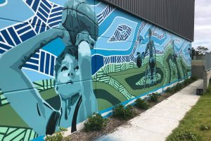 Coming Together Mural